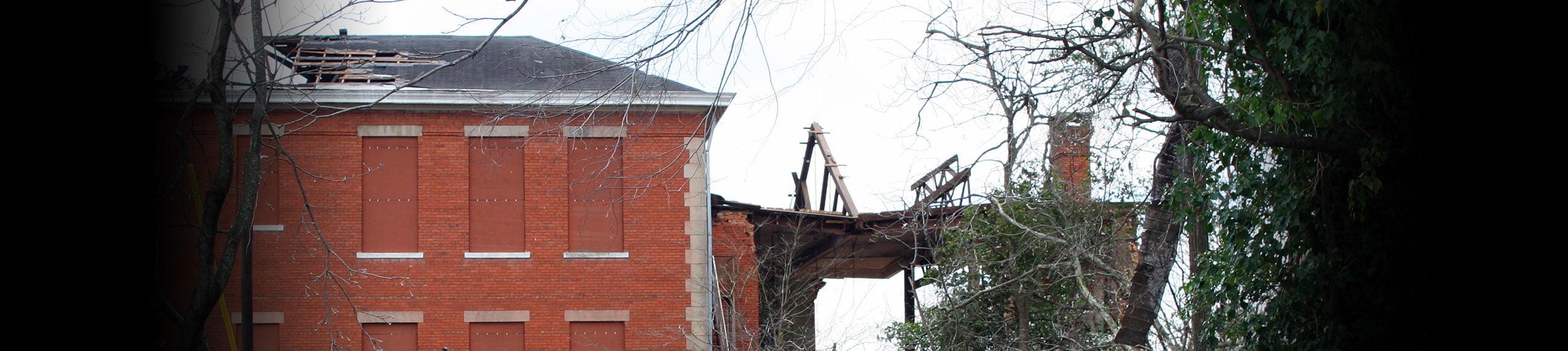 Wind & Storm Damage Repairs in Paul Davis Restoration of Bucks County PA